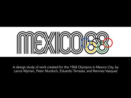 Visual Language Week 1: Study of MEXICO '68 Olympics logo design