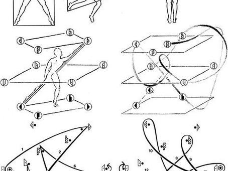 Materiality of Language final: Laban-ese Gibberish (asemic dance notation pt. 2)