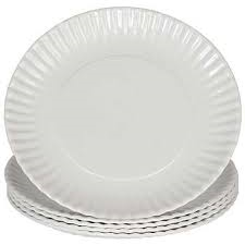 "Paper Plates - 9"" Laminated"