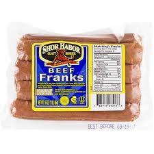 Beef Franks - $4.99/lb