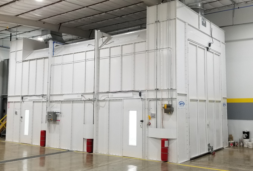 Col-Met LE Spray Booth-side-front view.j