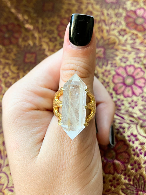 Crystal Talon Ring