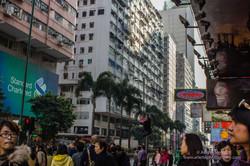 Hong Kong Street Scene Kowloon
