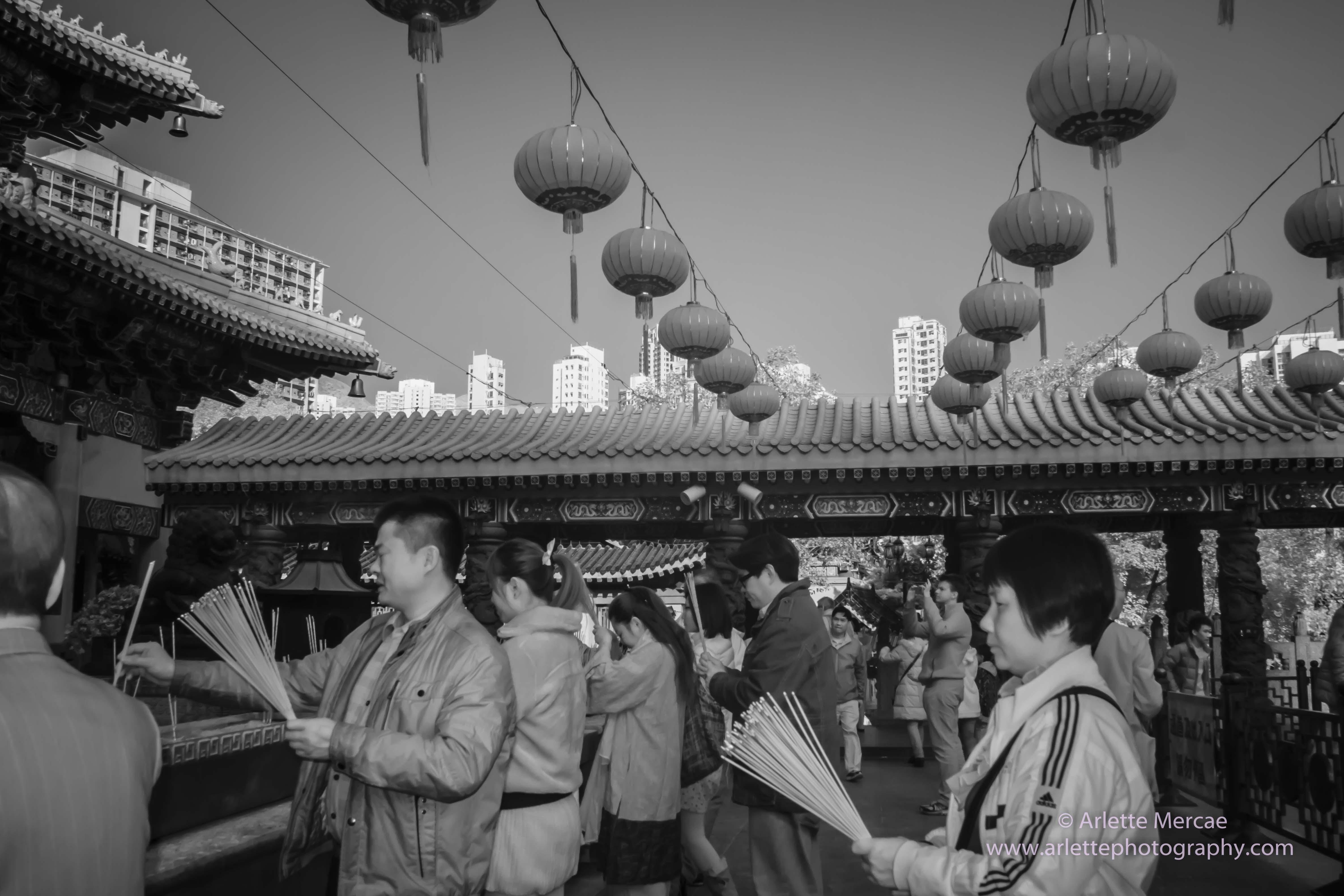 Hong Kong - Temple 1