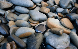 Beach Pebbles Remarkable Cave
