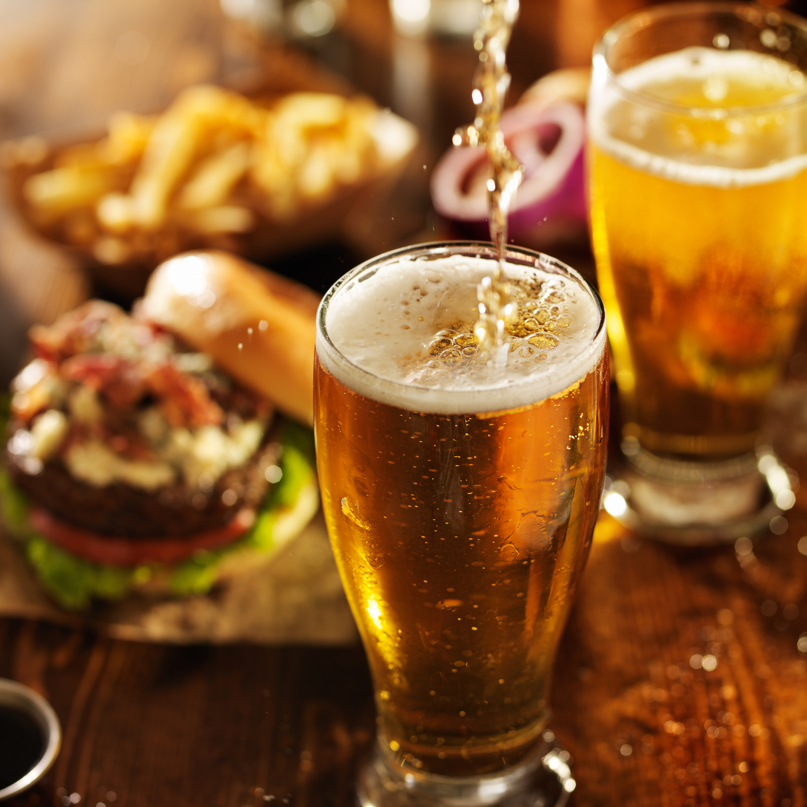 Choose from Over 30 Beer Selections