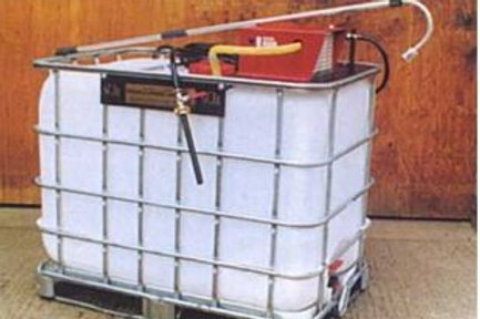Petrol Skid Mounted 600L Basket Waterer - Ref W3100(P)