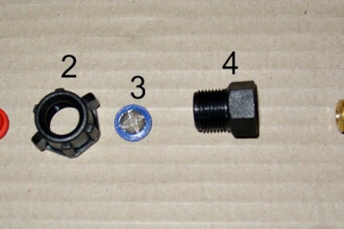 Brass Lance Nozzle Assembly Parts - Ref BNAP