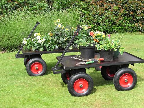 Four Wheel Turn Table Trolley - Ref FBT3