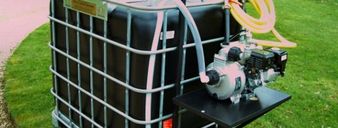 Petrol Skid Mounted 900L Basket Waterer - Ref W3200(P)