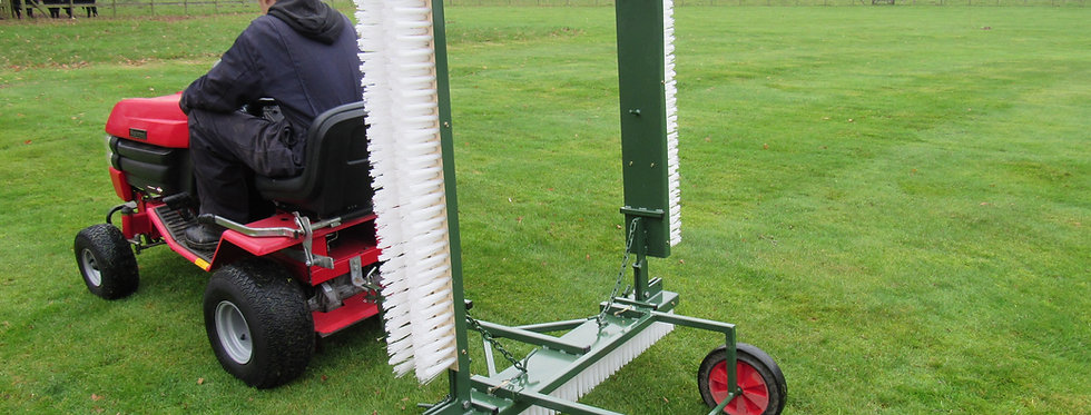 Folding Brush Unit for SCH Tractor Package (Towed) - Ref TFB