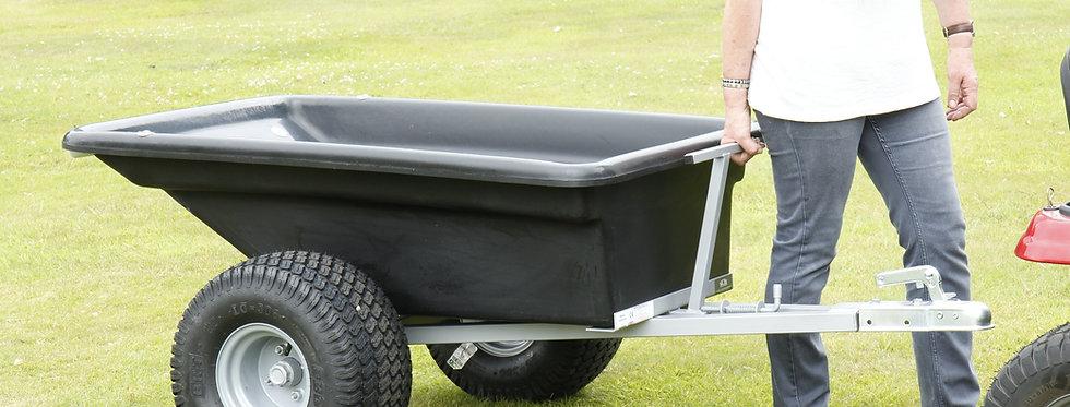 Plastic Bodied Trailer Wide Profile Wheels - Ref QPTP