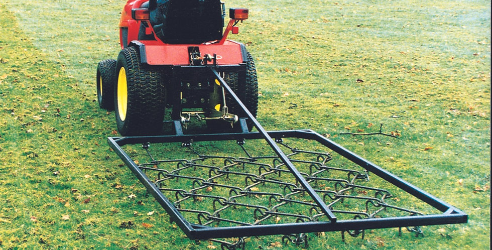 Mounted 3 Point Linkage Chain Harrow - Ref 8MCH