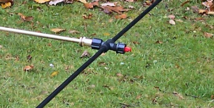 1220mm (48in) Three Nozzle Spray Boom - Ref NB48