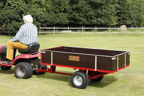 Two Wheel Timber 15CWT Tipping Trailer - Ref GWTS15