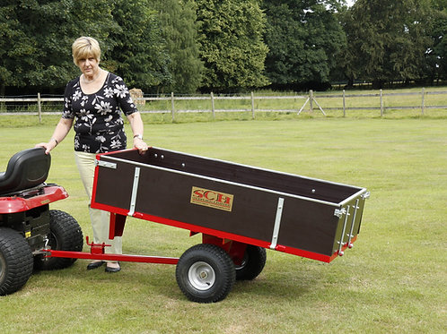 2 Wheel Timber Tipping Trailer - Ref GWTS10