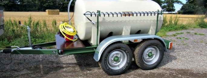 Water Bowser - Fast Tow Unit Electric - Ref FPT250(E)