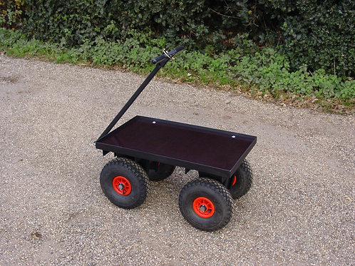 Four Wheel Turn Table Trolley - Ref FBT1