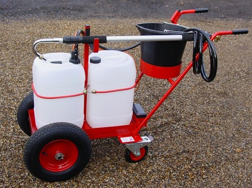 Compact Trolley Mounted Powered Waterer - Ref HBWP