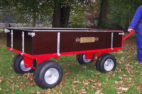 Heavy Duty 4 Wheel Timber Trailer - Ref GWT415