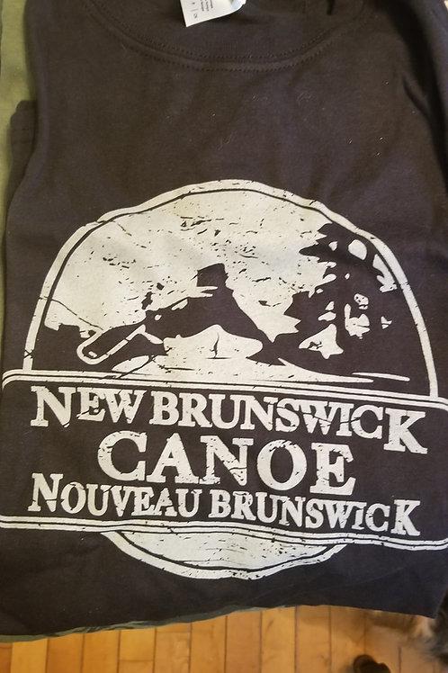 Vintage Canoe New BrunswickT-shirt