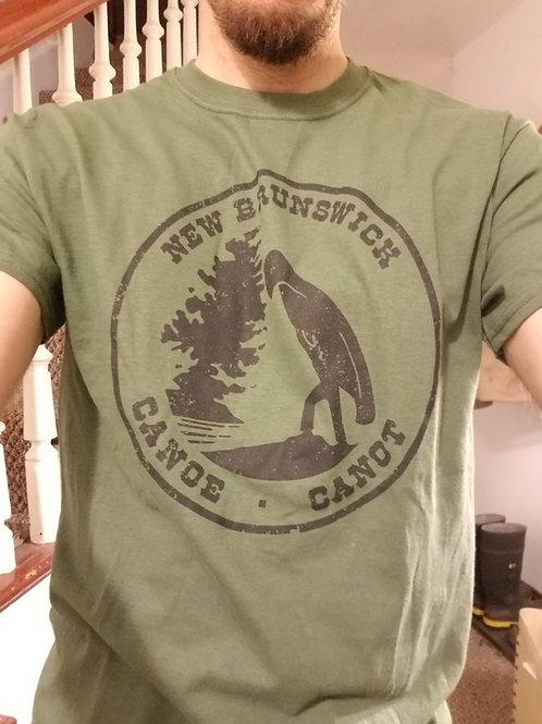 Vintage New Brunswick Canoe/Canot T-Shirt