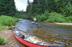 Canoe Poling Tim Humes