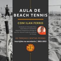 Aulas de Beach Tennis