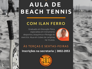 Aulas de Beach Tennis