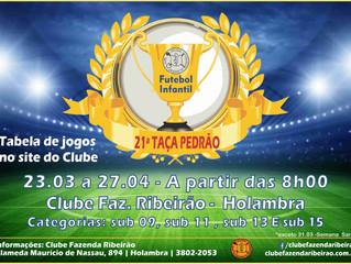 Semifinais da Taça Pedrão - 13 de Abril - Sábado - Não perca!!!