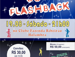 Noite do FlashBack! Você não pode perder!!!!
