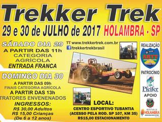 Vem aí: TREKKER TREK - 29 e 30 DE JULHO de 2017.