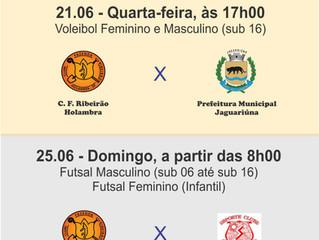 Jogos - Escolinhas de Esportes - Compareça!!!!