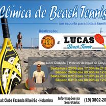 Vem aí Clínica de Beach Tennis!