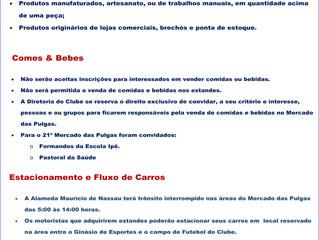 21º Mercado das Pulgas - Ligue-se!!