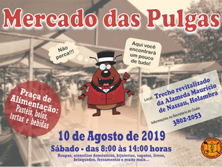 Vem aí! Mercado das Pulgas 2019...