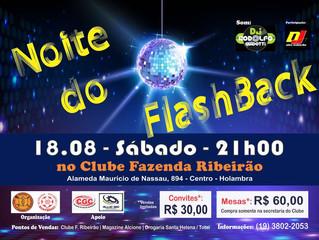 Noite do Flashback no Clube!