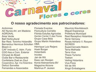 Carnaval 2019: O nosso muito obrigado aos patrocinadores!