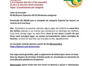 25ª Etapa - Holambra - Liga do Interior Paulista de Tenis