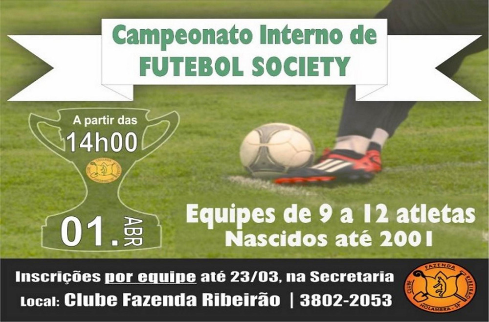 Campeonato Interno de Futebol Society