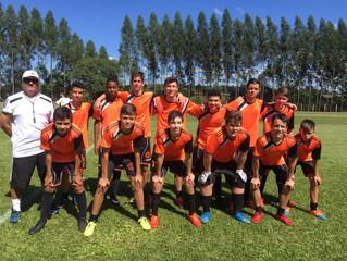 Amistoso do sub15 -Clube Fazenda Ribeirão x Pérola Negra.