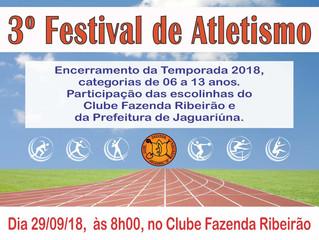 3o Festival de Atletismo no Clube