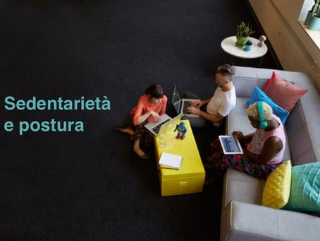Sedentarietà e postura