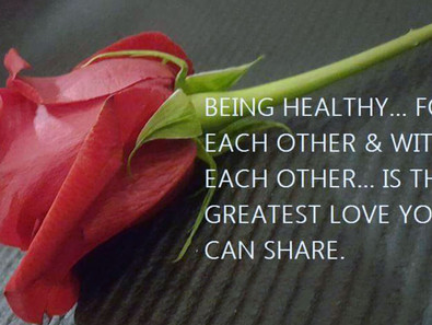 For the love of good health...