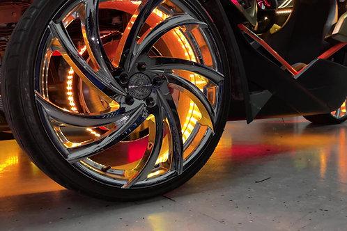 (8H1) Chase Wheel Ring 4 strip Kit (with wheel rings)