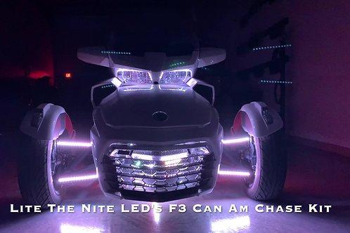 (3E) F3 Can Am Spyder Clear Chase Kit