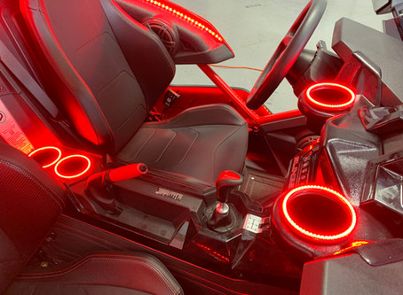 Red interior kit