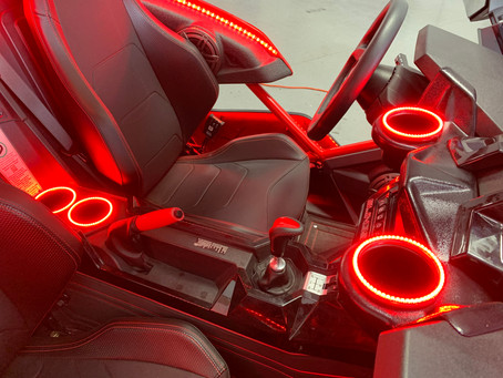 Red interior kit