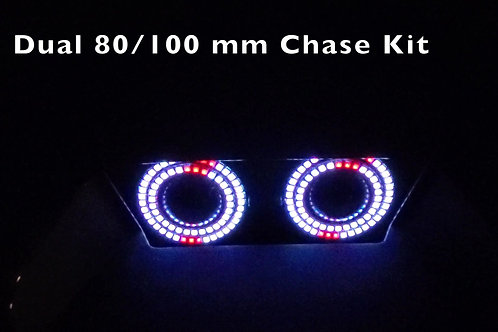 (10P).  Dual Halo 80/100mm Chase Kit