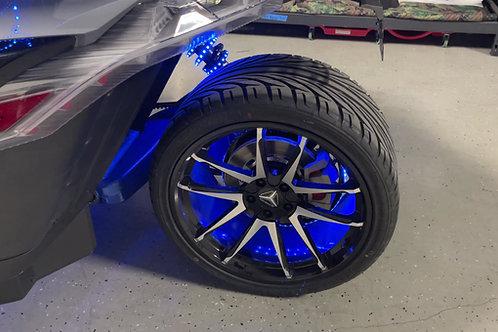 (8G) Chase Wheel Ring 3 strip Kit (without wheel rings)